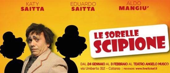 Le sorelle Scipione al Teatro Angelo Musco a Catania