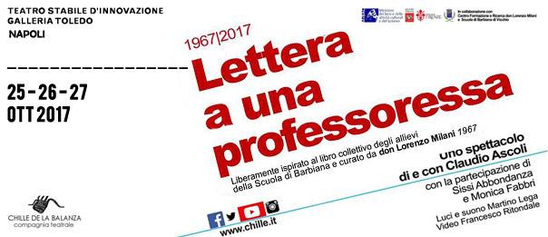 Lettera a una professoressa alla Galleria Toledo di Napoli
