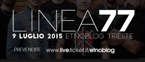 Linea 77 live Etnoblog Trieste