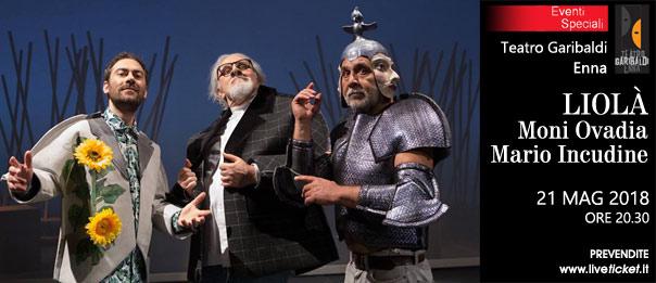 """""""Liolà"""" Moni Ovadia e Mario Incudine al Teatro Garibaldi di Enna"""