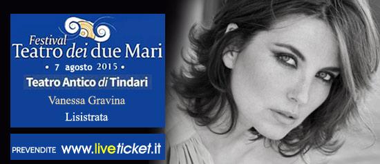 "Vanessa Gravina ""Lisistrata"" al Teatro Antico di Tindari"