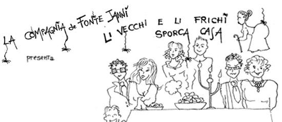 """""""Li vecchi e li frichi sporca casa"""" al Teatro Don Bosco di Macerata"""