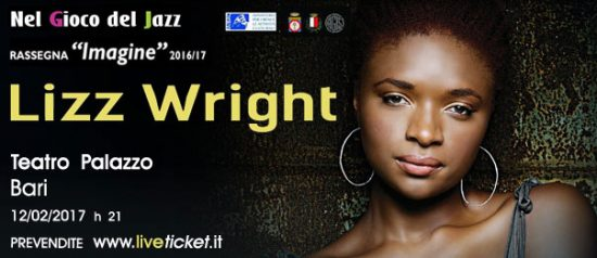 Lizz Wright al Teatro Palazzo di Bari
