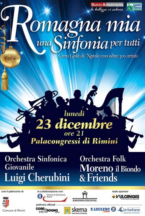 Romagna mia una Sinfonia per tutti al Palacongressi di Rimini