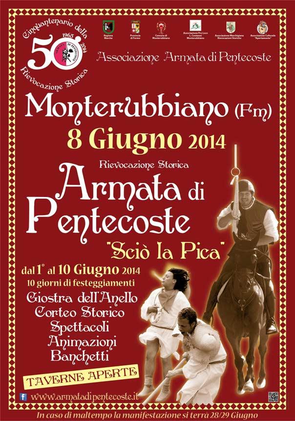 50° Rievocazione Storica dell'Armata Di Pentecoste a Monterubbiano
