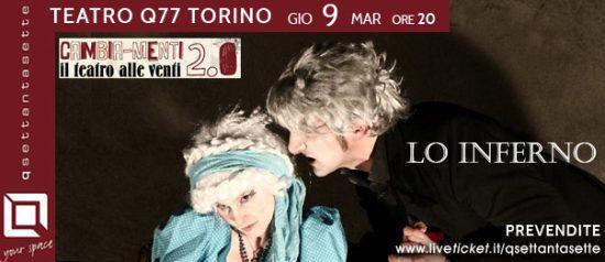 Lo Inferno al Q77 di Torino