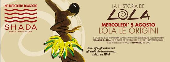 La historia de Lola allo Shada Beach Club a Civitanova Marche