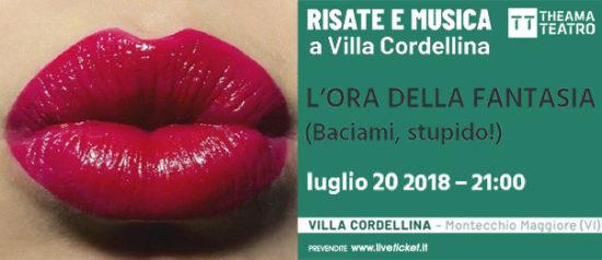 """""""L'ora della fantasia (Baciami, stupido!)"""" Risate e Musica a Villa Cordellina 2018 a Montecchio Maggiore"""