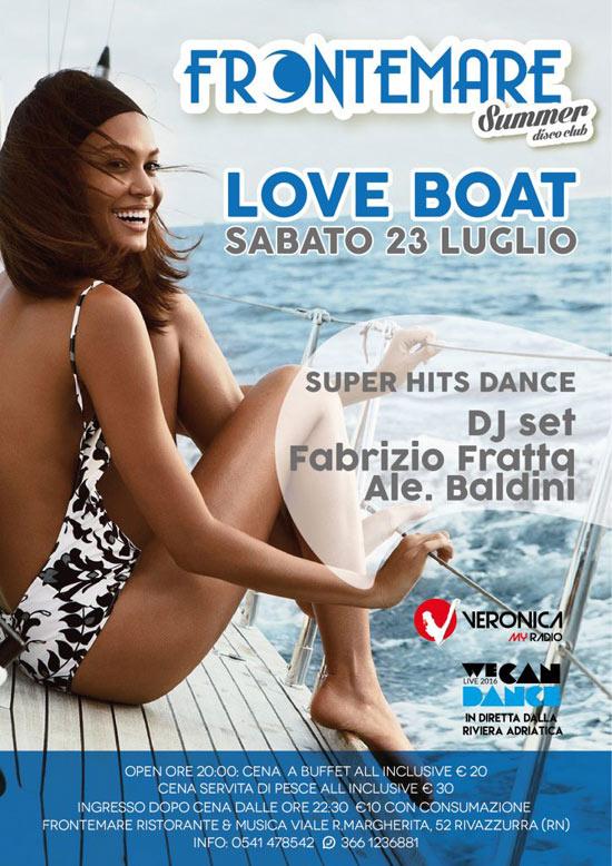 Love Boat al Ristorante Frontemare di Rimini