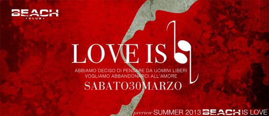 """""""Love is"""" Beach Club Versilia"""