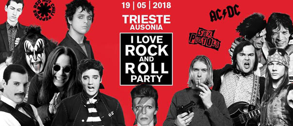 I love Rock and Roll party all'Ausonia Beach Club di Trieste