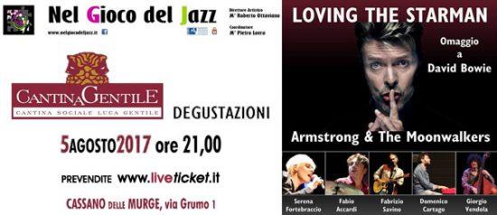 Loving the Starman - Omaggio a David Bowie alla Cantina Luca Gentile a Cassano Murge