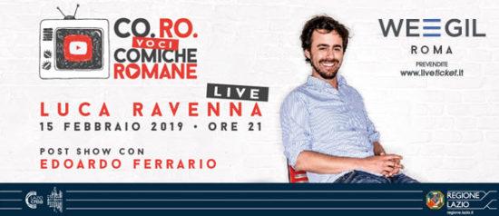 Luca Ravenna al WEGIL a Roma