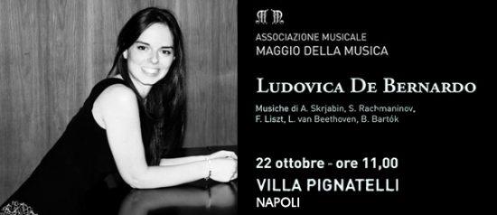 Ludovica De Bernardo a Villa Pignatelli a Napoli
