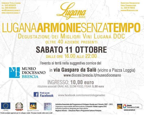 """""""Lugana Armonie Senza Tempo"""" al Museo Diocesano di Brescia"""