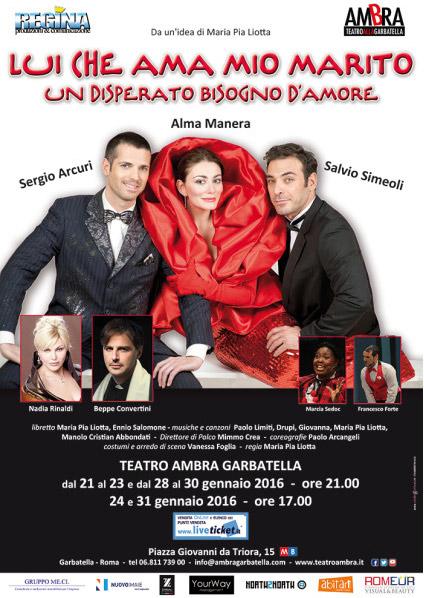 Lui che ama mio marito al Teatro Ambra alla Garbatella di Roma