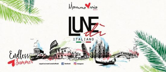 Lunedì italiano al Mamma Mia Beach a Santa Teresa di Riva