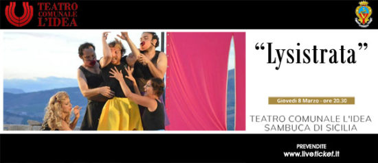 Lysistrata al Teatro L'Idea a Sambuca di Sicilia