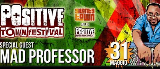 Mad Professor - live @Positive Town Festival al Circolo Arci MU di Parma