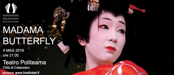 Madama Butterfly al Teatro Politeama di Catanzaro