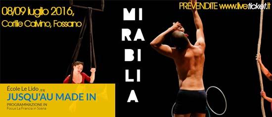 """École Le Lido """"Jusqu'au Made In"""" al Mirabilia Festival 2016 a Fossano"""