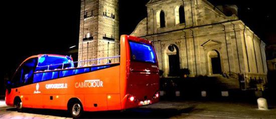 Torino Magica® Speciale Cabrio in Piazza Statuto a Torino