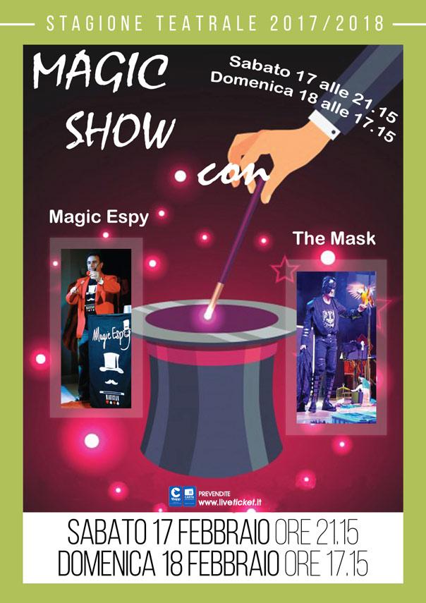 Magic show al Teatro Portone di Senigallia