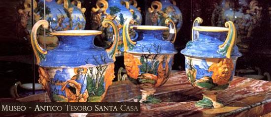 Maioliche, Museo Antico Tesoro della Santa Casa di Loreto