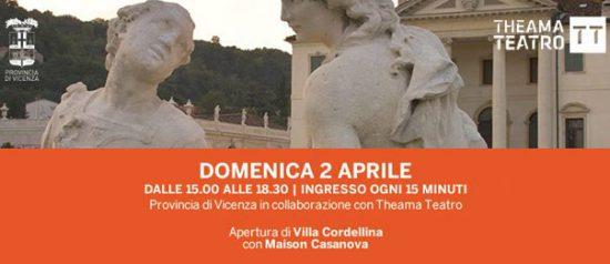"""Apertura di Villa Cordellina con """"Maison Casanova"""" a Villa Cordellina di Montecchio Maggiore"""
