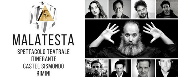 """""""Malatesta"""" alla Sala del Maschio del Castel Sismondo di Rimini"""