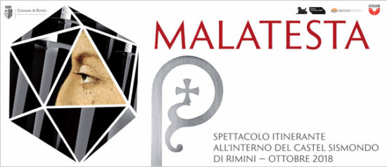 """Spettacolo itinerante """"Malatesta"""" alla Sala del Maschio del Castel Sismondo di Rimini"""