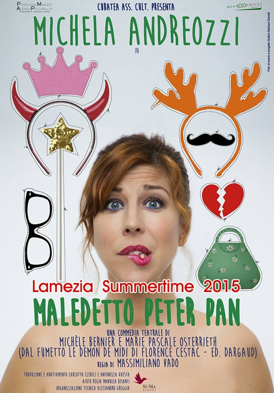 "Lamezia Summertime 2015 ""Maledetto Peter Pan"" all'Abbazia Benedettina di Lamezia Terme"