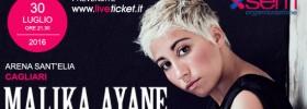 Malika Ayane Tour 2016 all'Arena Sant'Elia di Cagliari