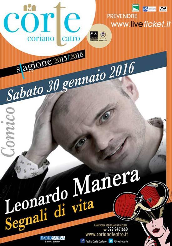 """""""Segnali di vita"""" al Teatro CorTe di Coriano"""