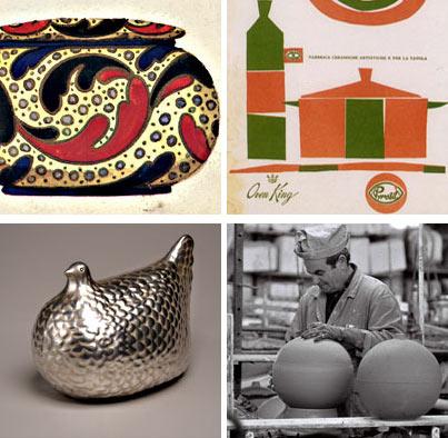 Fanciullacci, La Mancioli, Ceramiche Bitossi,Manifattura Alvino Bagni