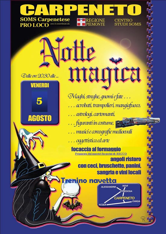 Notte Magica a Carpeneto