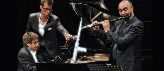 """Ramin Bahrami, Massimo Mercelli """"Il flauto di Bach """" al Teatro Comunale di Cagli"""