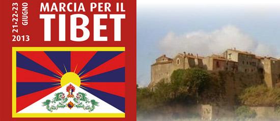 3 giorni marcia per il Tibet in Alta Tuscia