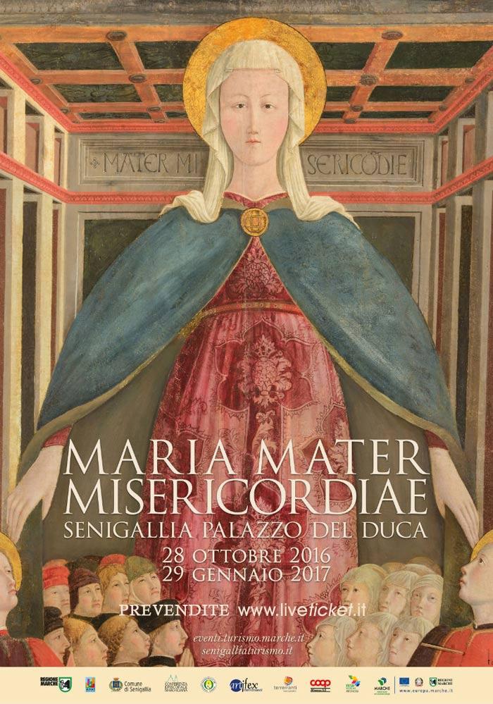 """Mostra """"Maria Mater Misericordiae"""" a Palazzo del Duca a Senigallia"""