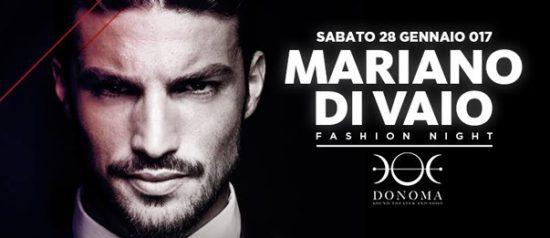 """""""Fashion night"""" Mariano Di Vaio al Donoma di Civitanova Marche"""