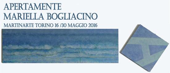 """Apertamente"" mostra di Mariella Bogliacino al martinArte di Torino"