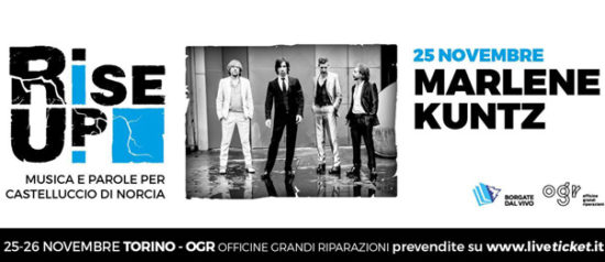 Marlene Kuntz all'Officine Grandi Riparazioni a Torino
