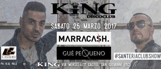 Marracash & Gue Pequeno al King Disco Club di Castel San Giovanni