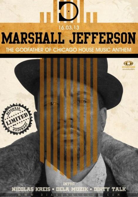 Marshall Jefferson al Diagonal Music Club