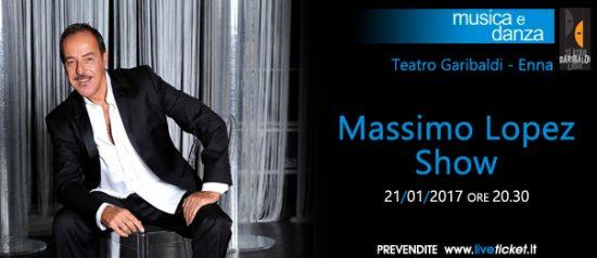Massimo Lopez Show al Teatro Garibaldi di Enna