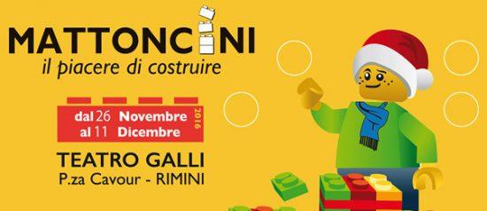 Mattoncini Expo al Teatro Galli di Rimini