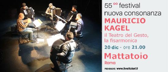 Mauricio Kagel - Il teatro del gesto, la fisarmonica al Mattatoio a Roma