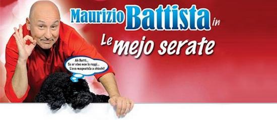 """Maurizio Battista """"Le mejo serate"""" al Teatro Moderno di Vibo Valentia"""