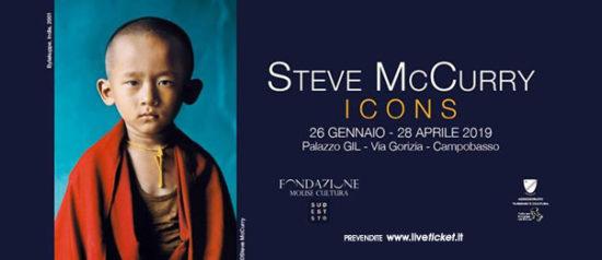 """Icons"" Steve McCurry al Palazzo ex Gil a Campobasso"