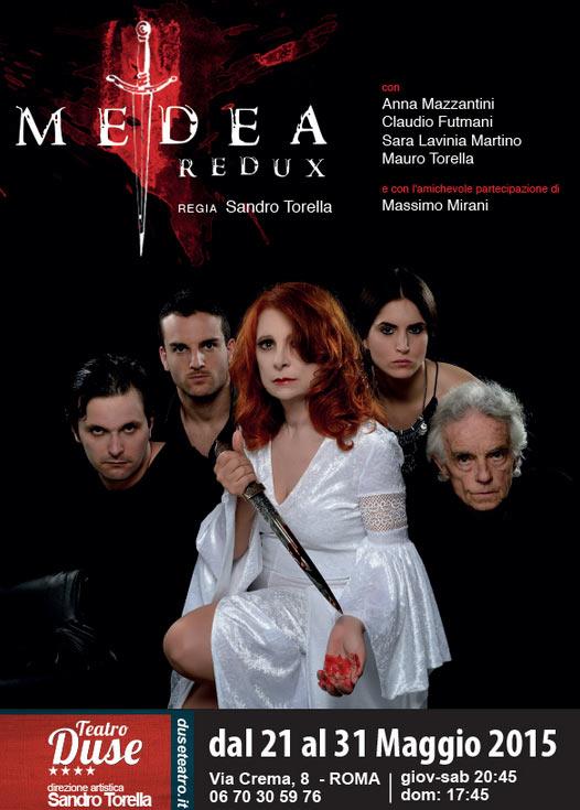 MEDEA redux al Teatro Duse di Roma